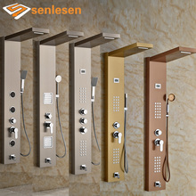 Multiple Types Best Quality Bathroom Shower Panel with Hand Shower Wall Mounted Shower Faucet