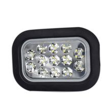 High Quality 24V/12V 13LED Car Reversing Lights Rear Reverse Light Trailer Truck Back up Lights White Clear Lamp with Bracket(China)