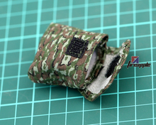 12 inch dolls 1/6 soldiers accessories Russian camouflage bag model to wear on the belt Action Figures