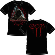 CHILDREN OF BODOM Reaper Face Official T SHIRT Brand New Sizes  plain white t shirt with pocket