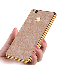 For Huawei p9 lite case Ultra Thin Glitter Bling cover Soft Silicone Phone Cases For Huawei Ascend P9 Lite Case Phone Bag Funda
