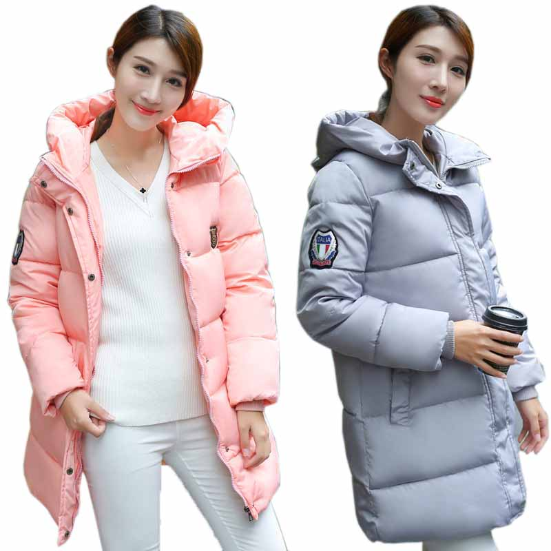 Fashion Winter Women Cotton-padded Warm Overcoat Ladies Hooded Long Sleeve Down Jacket Outwear Wadded Coat Slim Fit YF155Одежда и ак�е��уары<br><br><br>Aliexpress