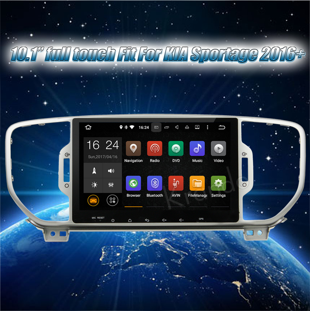 Krando Android car radio gps for kia sportage 2016+ navigation multimedia system (2)