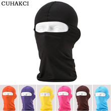 CUHAKCI 2017 New Balaclava Mask Windproof Face Neck Guard Masks Ninja Headgear Unisex Hat Winter Casual Solid Masks Hat
