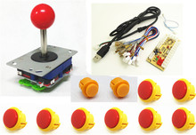 1 kit for single player PC joystick controller, USB to Jamma arcade game, Arcade control panel keyboard encoder(China)