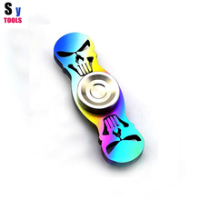 SY tools Custom producing hand spinner Torqbar TC4 Titanium alloy material 698 Ceramic bearings (Colorful)-Punisher HandSpinne