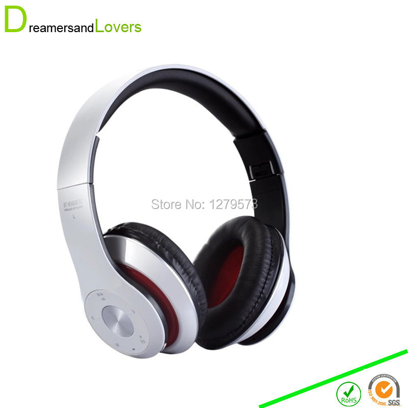 Bluetooth 4.0 Over Ear Headphones, Wireless Stereo Headsets Earphones, Built in Mic Hands-free Calling for iPhone Samsung Galaxy<br><br>Aliexpress