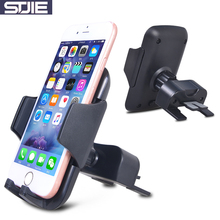 STJIE universal smartphone car holder CD slot and air vent car mount holder for phone grip cellphone(China)