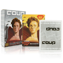 English Coup basic+reformation expansion board game best party family cards game(China)