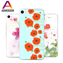 Meizu u10 Case,Silicon beautiful flowers 3D relief Painting Soft TPU Back Cover meizu u 10 Phone protect Bags shell - LLQ store