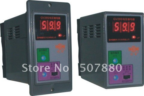 GV29S AC Electronic  voltage relay overload voltage relay protection relay <br>