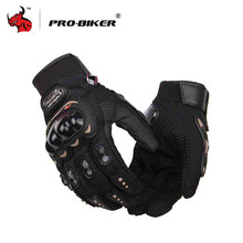 PRO-BIKER Knight Finger Gloves Racing Motorcycle Special Forces Tactical Gloves Slip Outdoor Men Fighting Gloves(China)