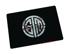 Team Solo Mid mouse pad Christmas gifts pad to mouse TSM computer mousepad black gaming padmouse gamer to laptop keyboard mats