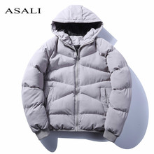 Russia Size Men Winter Jaket Warm Men's Jackets and Coats Cotton Parka Overcoat Fashion Male Windbreaker Jaqueta Masculina 2018(China)
