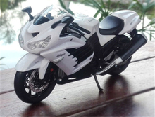 1:12 Kawasaki Ninja ZX-14R Diecast Super Sport Motorcycle Bike Model Toy Collection Kids Gifts