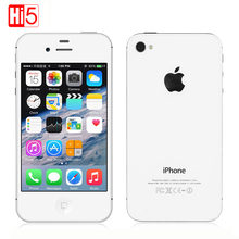 Unlocked Apple iPhone 4S 32G ROM ios Touchscreen WIFI GSM WCDMA GPS 8MP 1080P IPS Mobile Phone Used iphone4s(China)