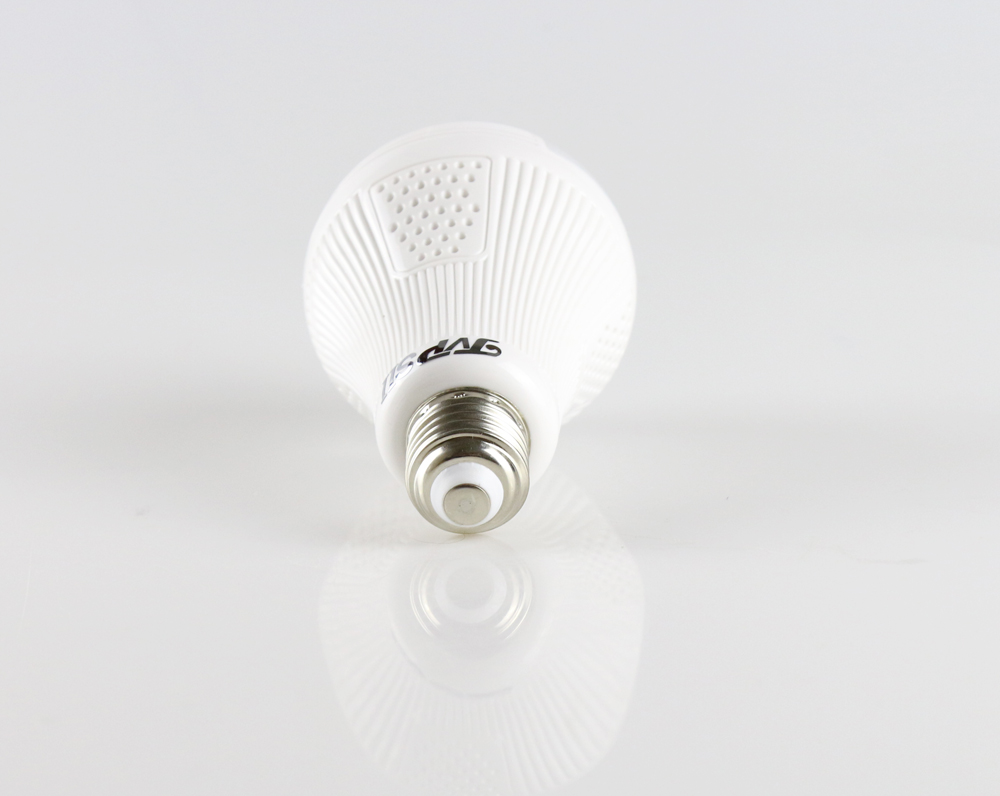Three Array Led  960P 1.3mp 3D VR Panoramic Bulb Wifi Wireless IP CCTV Surveillance Camera   picture 03