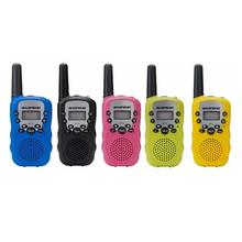 PKR 2,151.87  36%OFF | 2pcs Wholesale Children Mini Kids UHF Walkie Talkie BF-T3 Baofeng FRS Two Way Radio Comunicador Handy Talkie Hf Transceiver