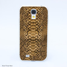 2168CA Luxury Just Cavallis  Snake Print Hard Transparent cheap Case Cover for Galaxy S2 S3 S4 S5 & Mini S6 S7 & edge Plus