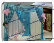 Wedding canopy Curtain & wedding canopy pipe structure Backdrop and reception stand with expandable pole