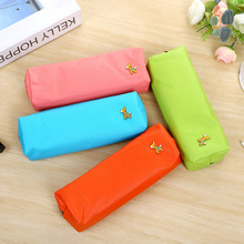 GREENHOW Candy Color Horse Pencil Case Office Stationery Waterproof PU Leather Storage PencilCase for School Students Supp 0286(China)