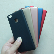 Case For Huawei Ascend P9 Lite 5.2 inch 5 Color Hard Plastic Colorful Phone Cases Cover for Huawei Ascend P9Lite