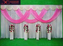 Event party banquet sequin wall stage background wedding backdrop panel for decorations