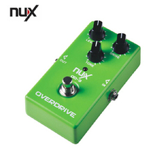 Electric Guitar Effects Tube NUX OD-3 Overload Digitech  Video Recording Evaluation Overdrive Aluminum Distortion