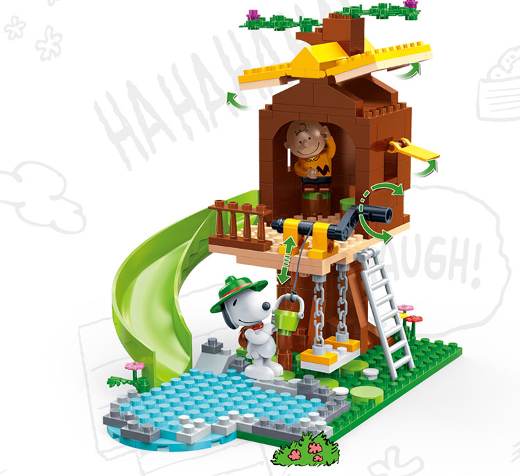 BanBao 7515 Tree House with Slide Building Blocks 27