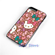 CUTE HELLO KITTY fashion cover case for Samsung galaxy S3 S4 S5 S6 S6 edge S7 S7 edge Note 3 Note 4 Note 5 #bn304