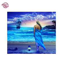 ANGEL'S HAND Diamond Embroidery full canvas painting 5d diy diamond painting diamond pattern sea