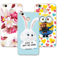 "Cute Cartoon Soft TPU Case Coque XiaoMi redmi 4x Colorful Mermaid Cover Funda Redmi 4x Hongmi 4X 5.0"" Case Capa"