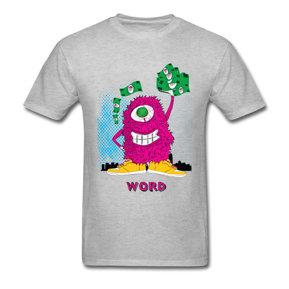 One eyed monster graphic t-shirt hoodies sweatshirts and more_grey