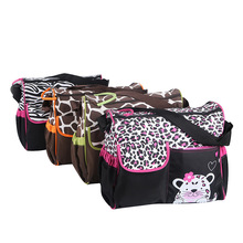 High Quality Fashion Diaper Bag Nappy Bag For Mommy And Baby , Multifunctional Large Capacity Baby Changing Stroller Bag