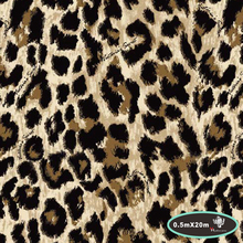 Popular DIY car decoration leopard print hydro water transfer hydrographics films printing film 50cm*20m PVA Film HFJ084