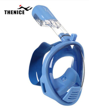 Kids Full Face Snorkeling Diving Mask Anti Fog Child Swim Snorkel Mask Children Scuba Mergulho Maske Study Swimming Equipments(China)