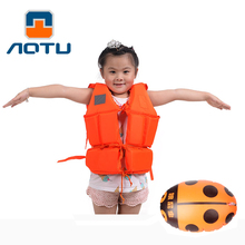 Aotu Life Vest Jackets For Kids Water Sports Life Jacket Children's Lifejacket Vest With Learn Swimming Snorkeling Buoyancy Vest(China)