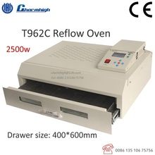 Free shipping T962C Reflow Oven 600*400mm 2500w Infrared IC Heater BGA SMD SMT Soldering Welding Sation 110V 220V