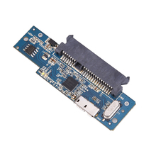 Super Speed USB 3.0 To SATA PCB Board Card 22 Pin 2.5 Inch Hard Disk Driver SSD Adapter with Micro USB3.0 Cable