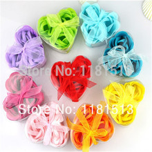 GUJHUI Hotsale 3pcs Scented Bath Body Flower Soap Rose Petal in Heart Box Wedding Favor t5UBX