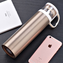 Guloo 500ML Thermo Mug Insulated Thermos Stainless Steel Vacuum Flasks Thermoses Travel Mug School My Drink Bottle Gifts(China)