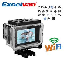 Spain Stock Wi-Fi Action Camera Q5 2.0 Inch 30M Waterproof 12MP H.264 1080P Full HD 170 angle view Anti-shake DV Action camera