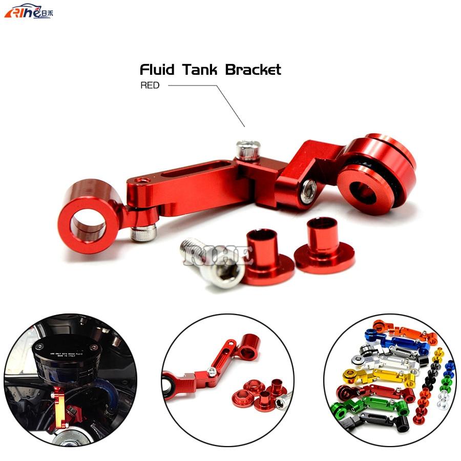 Universal motorcycle Brake clutch pump fluid reservoir tank bracket for Yamaha YZF R6 YZF R1 FZ1 FAZER XP 530/500 Honda CBR300R<br><br>Aliexpress