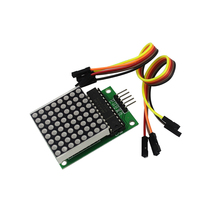 Free Shipping 10Pcs/lot MAX7219 Dot Led Matrix Module MCU LED Display Control Module Kit for arduino DIY KIT(China)