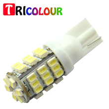 TRICOLOUR 10x T10 1206 42 SMD Auto LED Lamps 42smd DC12V Car Turn Signal Lights Bulb 194 927 161 168 W5W#TB09(China)