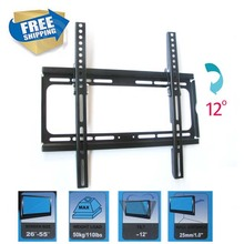 free shipping 23 inch 32inch 37inch 46inch 50inch tiltable lcd tv wall mount swivel led tv bracket shelf