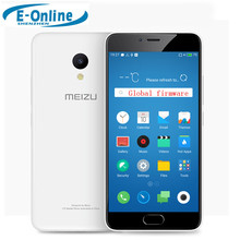 "Original Meizu M5 4G LTE Cell Phone 2.5D Glass MT6750 Octa Core 5.2"" 3GB RAM 32GB ROM 13MP 4G LTE Fingerprint ID(China)"