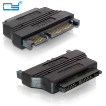 "2.5"" IN SATA 22 pin Male to 1.8"" IN Micro SATA 16 pin Female 3.3V Adapter convertor for Hard Disk Drive SSD 2PCS/lot"