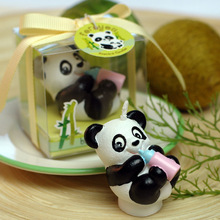 New arrival cute panda candle baby shower baptism party favor children gift present birthday