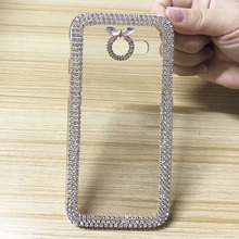 Buy Luxury Bling Rhinestone Clear Case Samsung Galaxy A5 2017 Ultra Thin Clean Hard Plastic Crystal Diamond Fashion Cover for $4.22 in AliExpress store